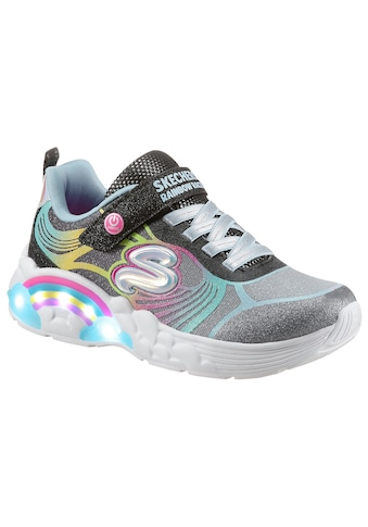 Skechers Kids Sneaker »Blinkschuh RAINBOW RACER NOVA BLITZ«, mit Bio-Dri-Ausstattung &... kaufen