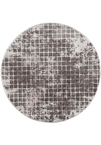 Carpet City Teppich »Noa 9328«, rund, 11 mm Höhe, Wohnzimmer kaufen