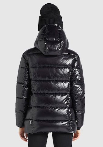 khujo Steppjacke »Awinta«, stylische Winterjacke mit Kapuze u. kontrastfarbigen... kaufen