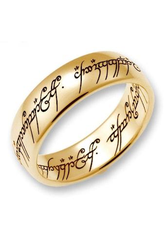 Der Herr der Ringe Goldring »Der Eine Ring  -  Gold, 10004073, 10004074, 10004075« kaufen