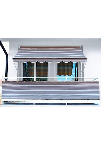 Angerer Freizeitmöbel Balkonsichtschutz, Meterware, anthrazit/grau, H: 75 cm kaufen