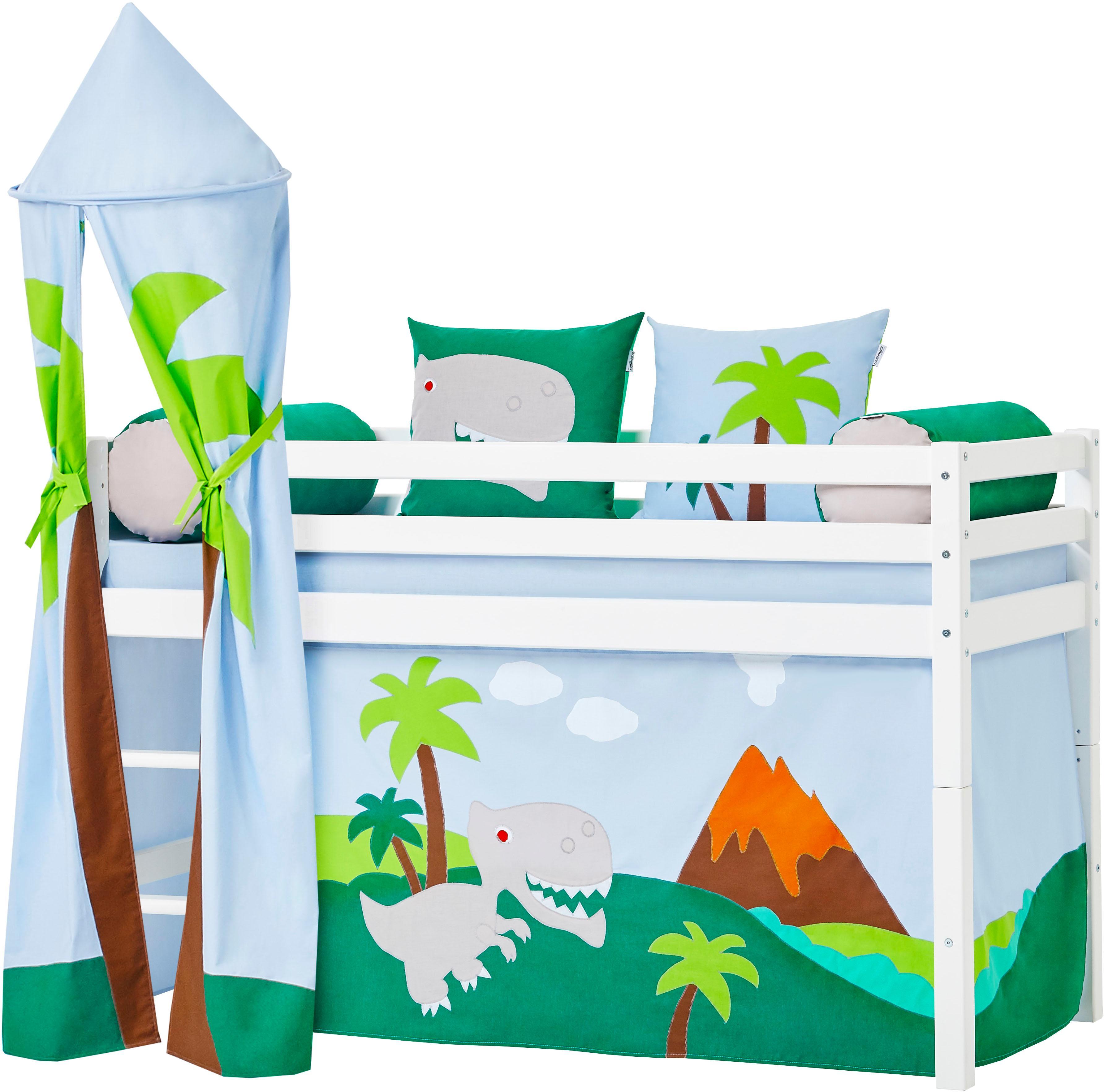 Hoppekids Kissenrollen-Set (2tlg.) »Dinosaurier«   Büro > Bürostühle und Sessel  > Bürostühle-Zubehör   Grün   HOPPEKIDS