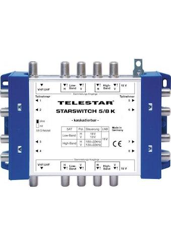 TELESTAR SAT-Verteiler »STARSWITCH 5/8 K inkl. F-Schnellverbinder« kaufen