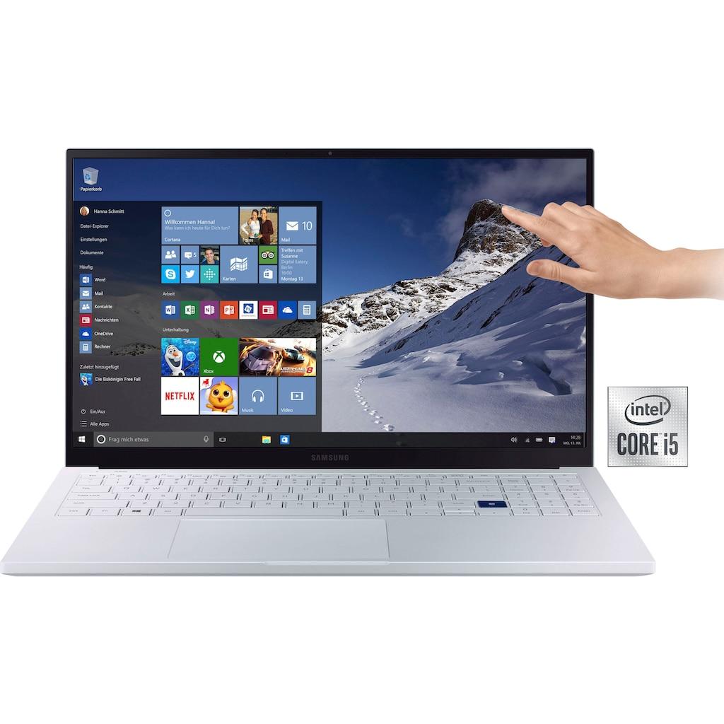 "Samsung Notebook »NP950X Galaxy Book Ion 15''«, (39,62 cm/15,6 "" Intel Iris Plus Graphics\r\n 256 GB SSD), Kostenloses Upgrade auf Windows 11, sobald verfügbar"
