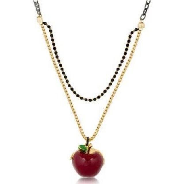 Couture Kingdom Kette mit Anhänger »Couture Kingdom - Schneewittchen - Medaillon - Vergifteter Apfel, 12100171«