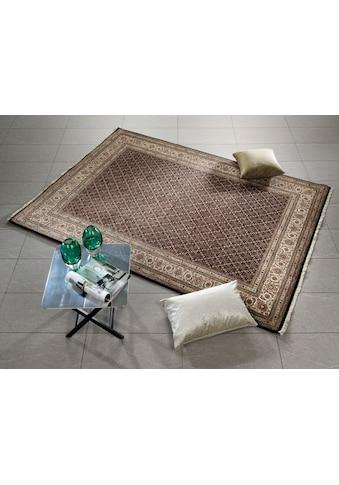 OCI DIE TEPPICHMARKE Orientteppich »Cavari Herati«, rechteckig, 4 mm Höhe, handgeknüpft, mit Fransen, Wohnzimmer kaufen