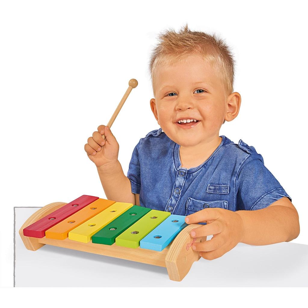 Eichhorn Spielzeug-Musikinstrument »Xylophon«, aus Holz, FSC®-Holz aus gewissenhaft bewirtschafteten Wäldern