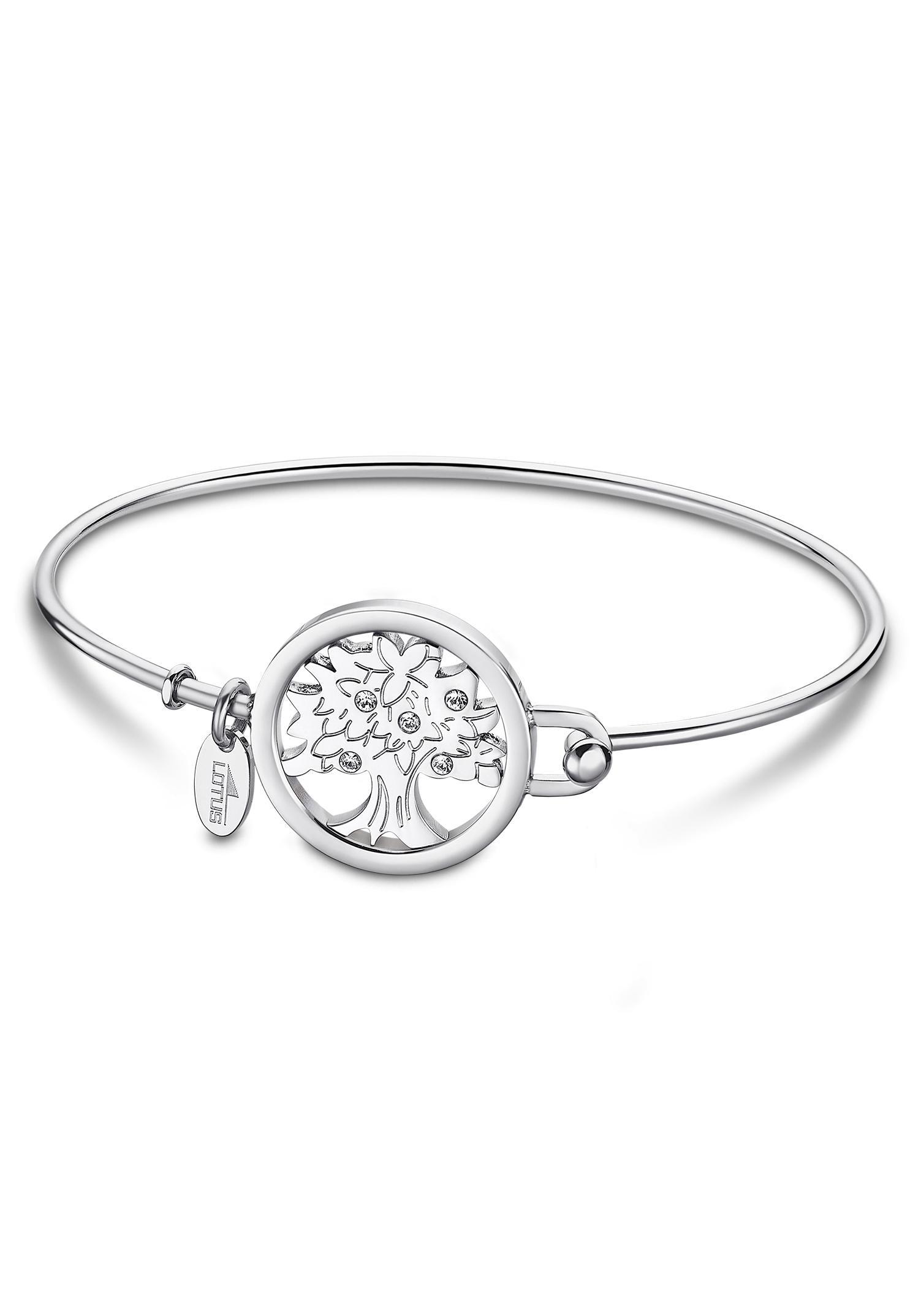 Lotus Style Armreif »Lebensbaum, LS2014 23«