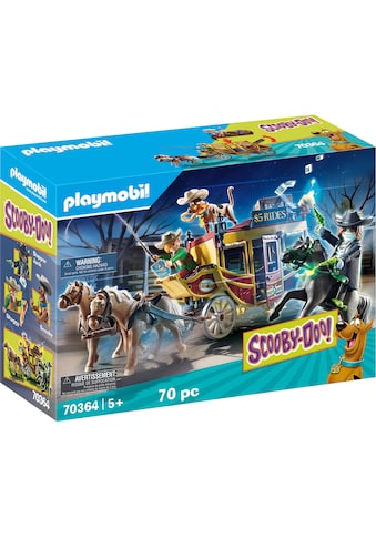 """Playmobil® Konstruktions - Spielset """"SCOOBY - DOO! Abenteuer im Wilden Westen (70364), SCOOBY - DOO!"""", Kunststoff kaufen"""