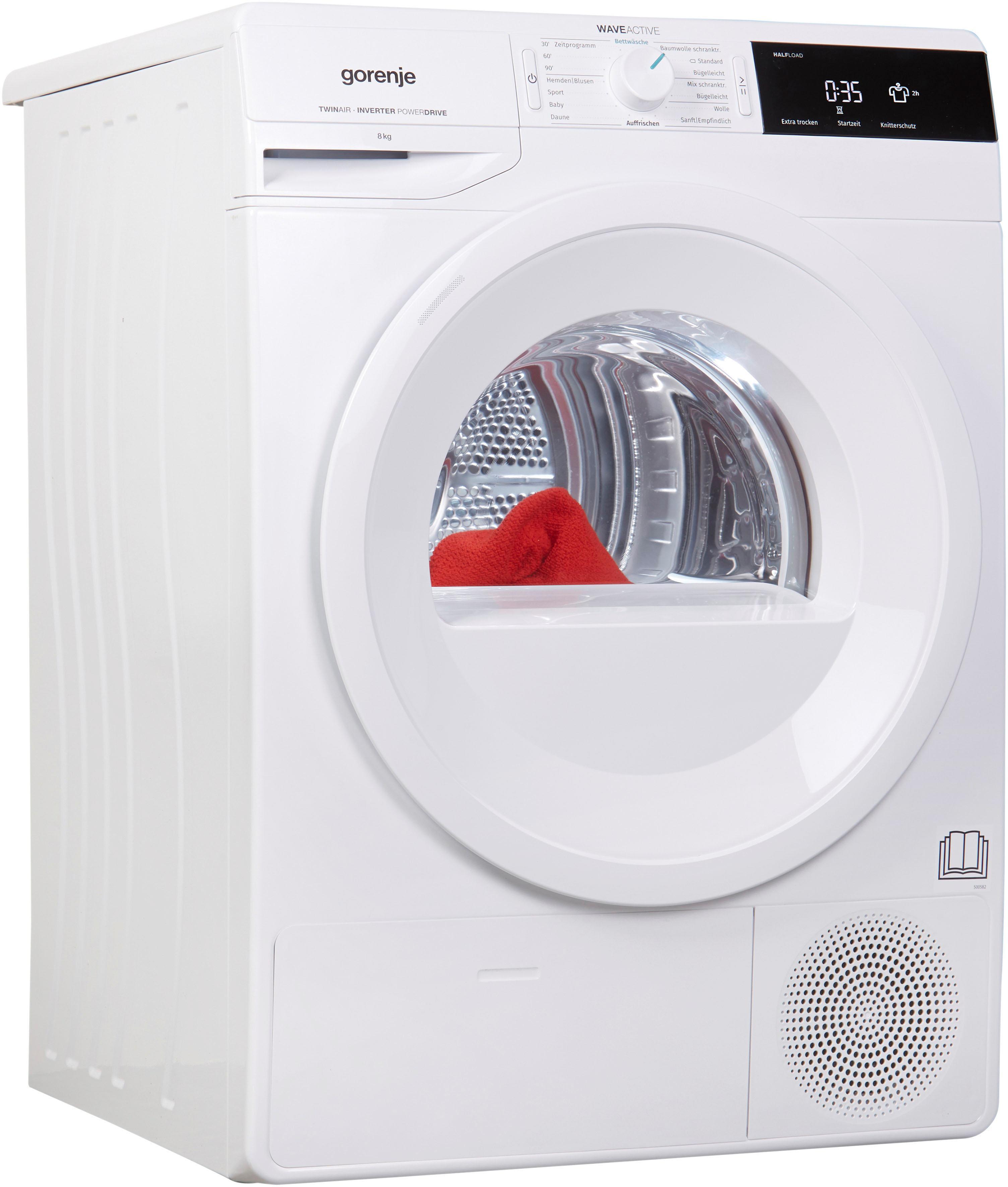 GORENJE Wärmepumpentrockner DE83, 8 kg | Bad > Waschmaschinen und Trockner > Wärmepumpentrockner | Gorenje