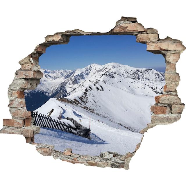queence Wandtattoo »Berge« (1 Stück)