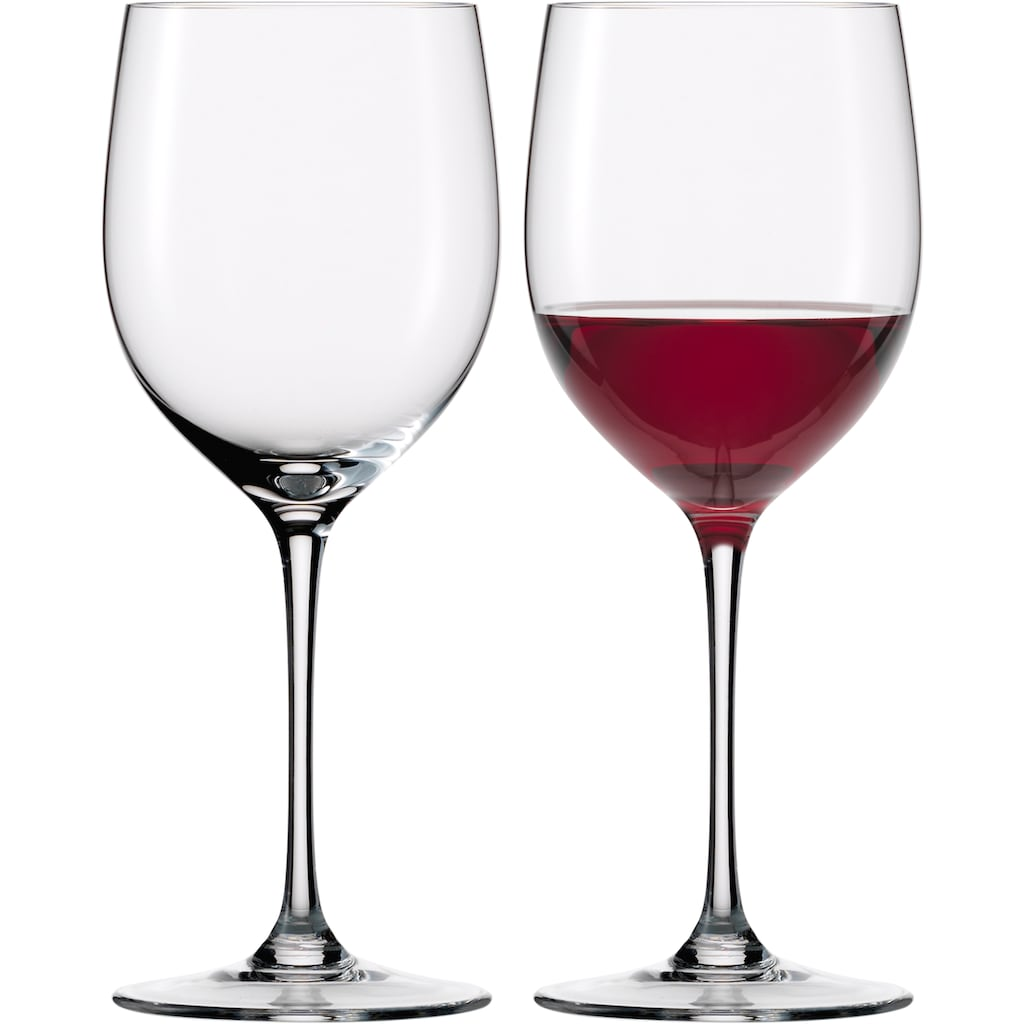 Eisch Rotweinglas »Jeunesse«, (Set, 2 tlg.), (Bordeauxglas), mundgeblasen, bleifrei, 640 ml, 2-teilig