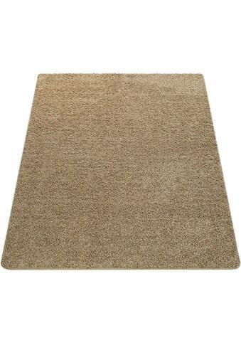 Hochflor - Teppich, »Vienna 200«, Paco Home, rechteckig, Höhe 25 mm, maschinell getuftet kaufen