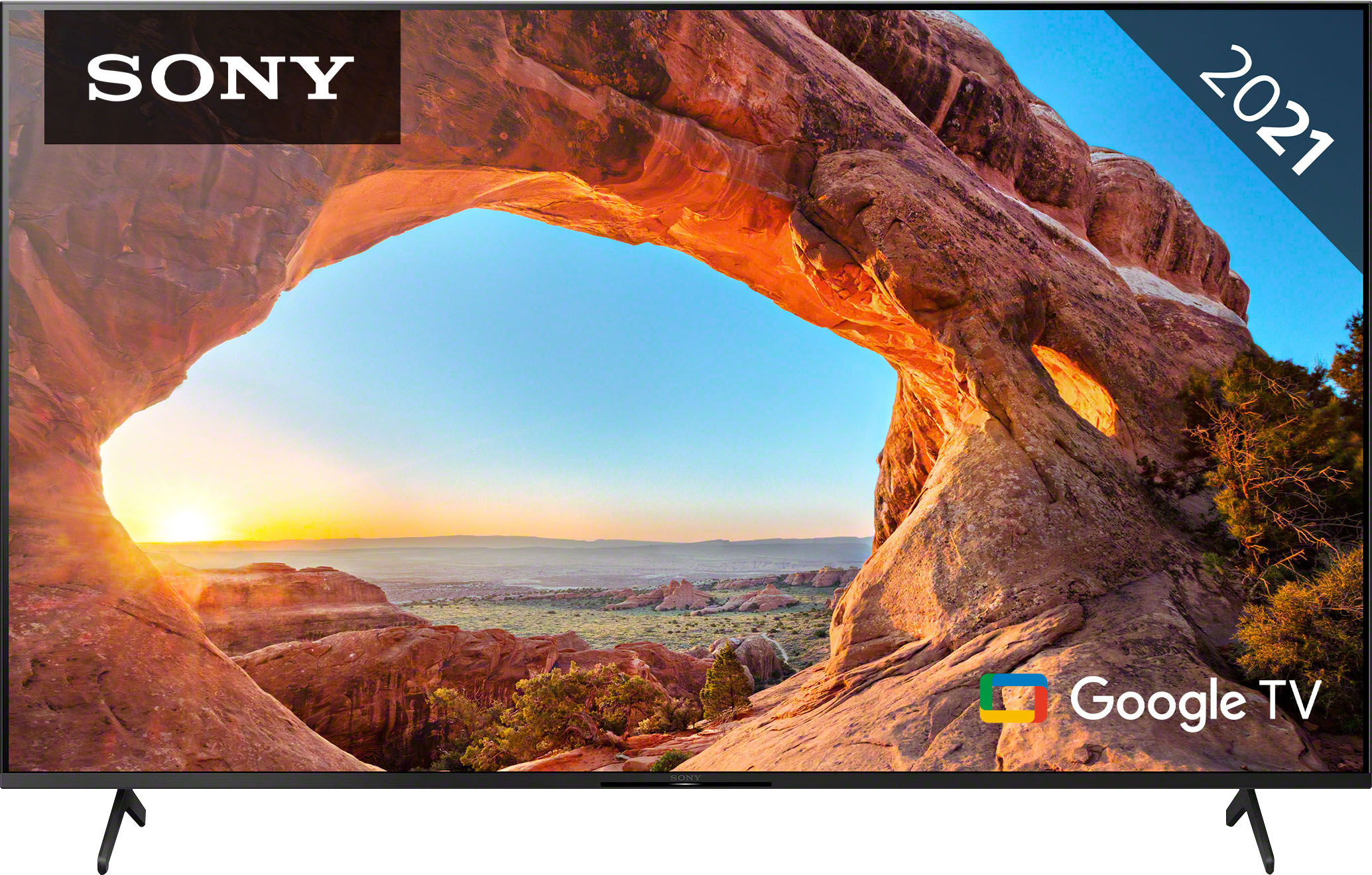 Sony LCD-LED Fernseher KD-75X85J , 189 cm 75 , 4K Ultra HD, Smart-TV, Smart TV
