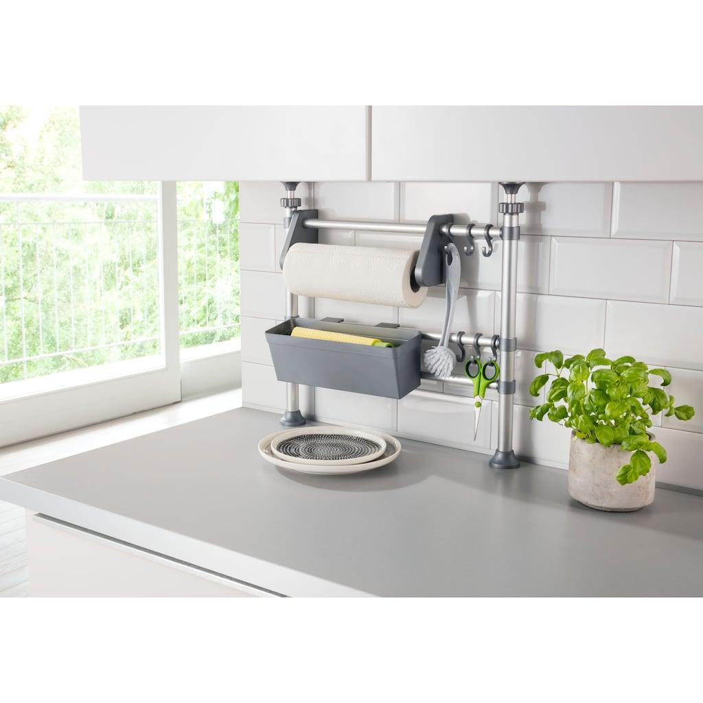 Ruco Küchenregal, Aluminium/Kunststoff, höhenverstellbar von 47-82 cm