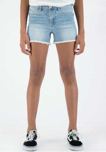 Garcia Jeansshorts »513   Rianna short Slim«, mit kurzen Fransen am Saum kaufen