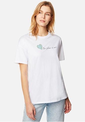 "Mavi T-Shirt »PRINTED LOGO«, mit ""the future is ours"" Frontdruck kaufen"