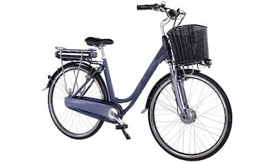 LLobe E-Bike »Black Motion 2.0, 10,4Ah«, 7 Gang, Shimano, Frontmotor 250 W, (mit... kaufen