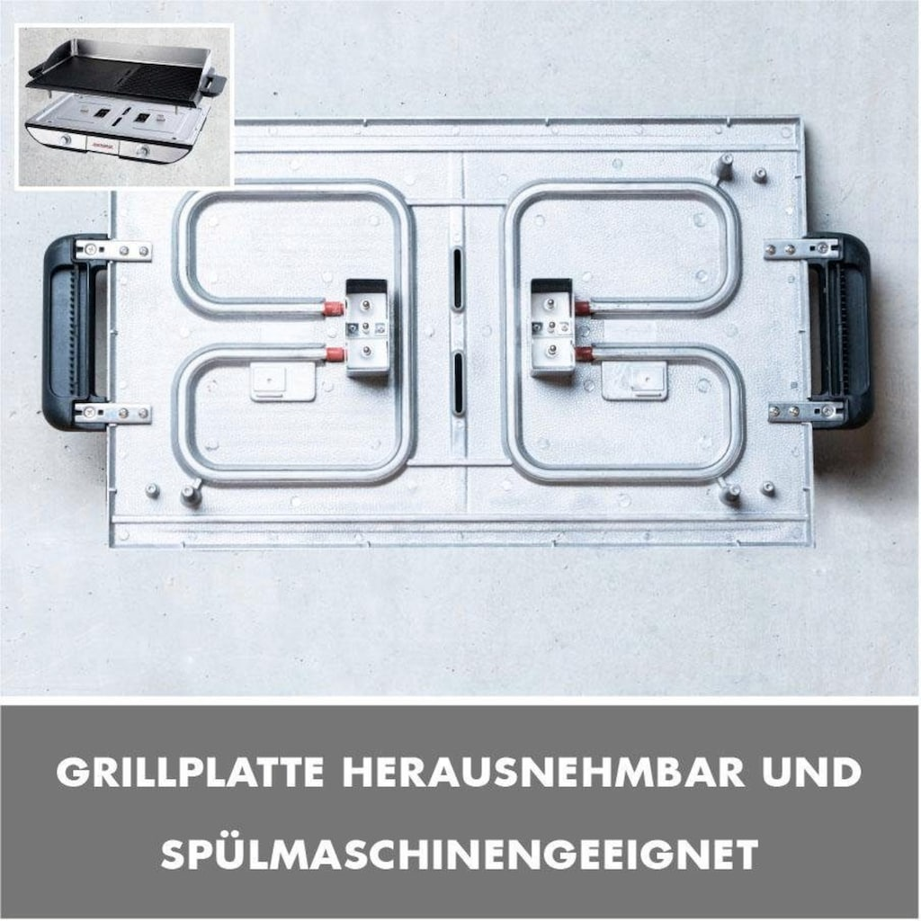 Gastroback Tischgrill »42523 Design Advanced Pro BBQ«, 2300 W