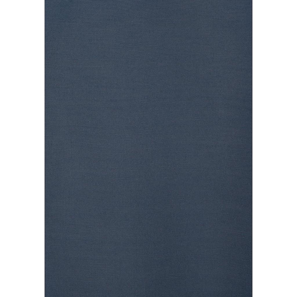 LASCANA Rundhalsshirt, mit Schleifendetail am Ärmel