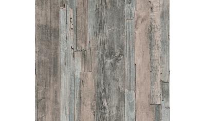 A.S. CRÉATION Vliestapete »Natural Style«, Holzplanken kaufen