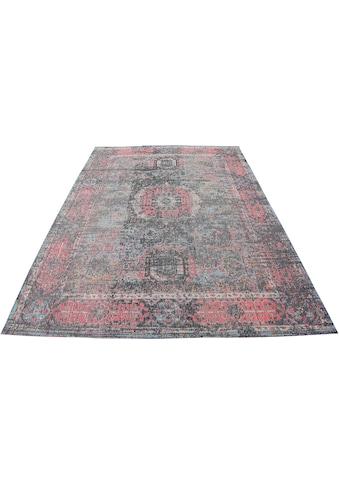 My HOME Teppich »Mohana«, rechteckig, 8 mm Höhe, mit Bordüre, Wohnzimmer kaufen