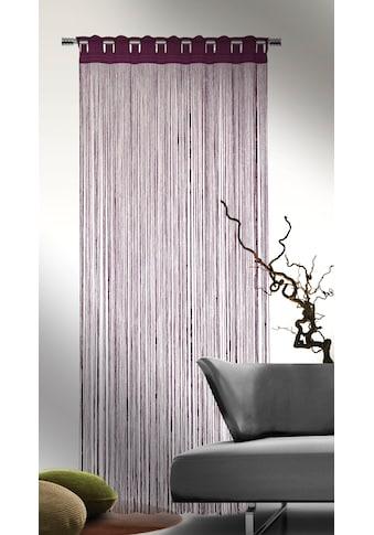 Fadenvorhang, »Fadenstore«, , Stangendurchzug 1 Stück kaufen