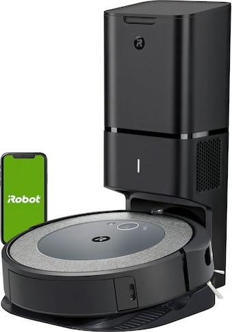 iRobot Saugroboter »Roomba® i3+ (i3558) WLAN-fähiger Saugroboter mit Kartierung und mit automatischer Absaugstation«, Ideal für Allergiker mit zusätzlichem Filter und Anti-Allergen Beutel, Zwei Gummibürsten für alle Böden kaufen