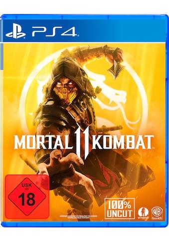 Warner Games Spiel »Mortal Kombat 11«, PlayStation 4 kaufen
