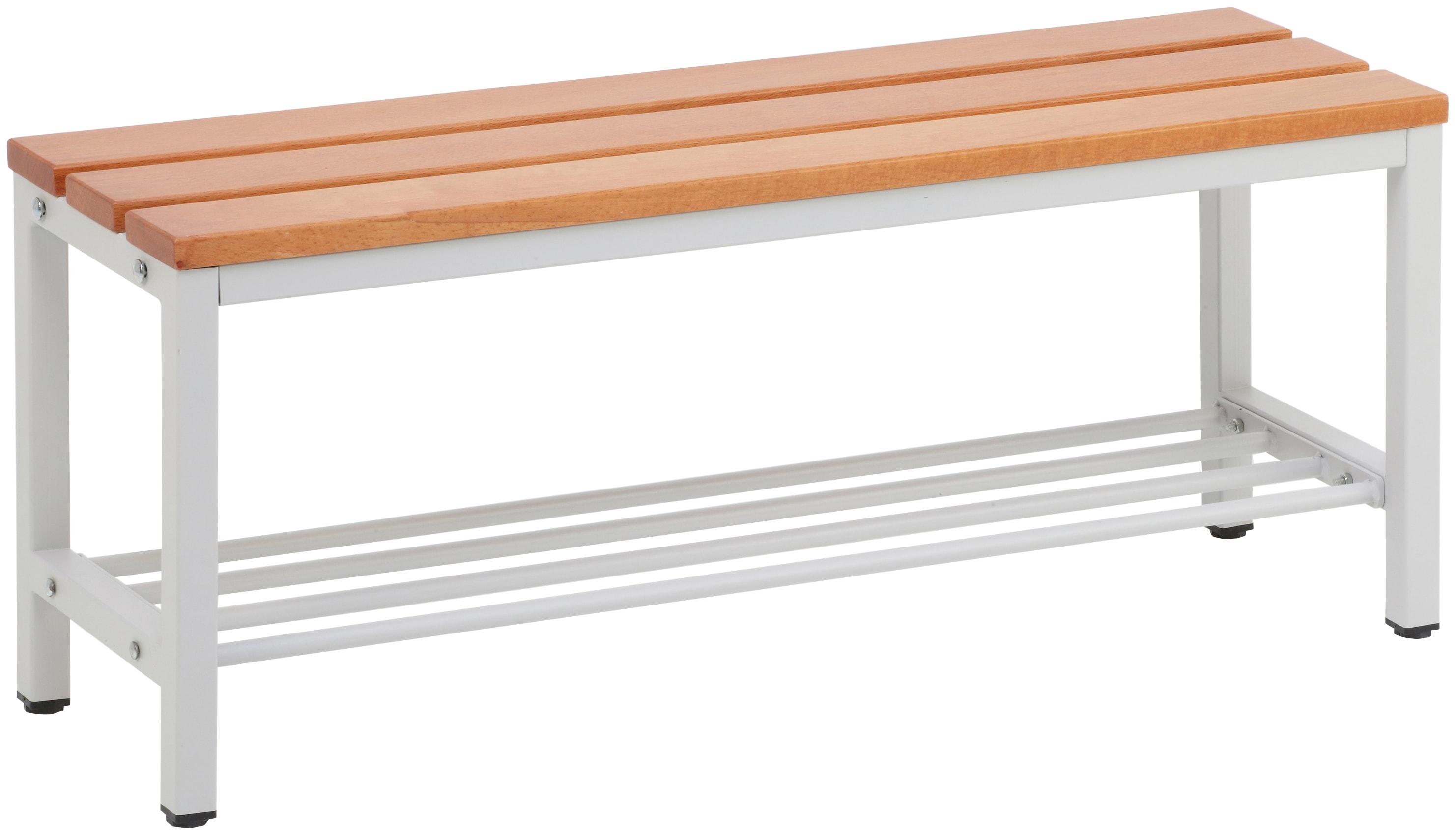 SZAGATO Sitzbank für Umkleideräume, mit Schuhrost | Küche und Esszimmer > Sitzbänke > Einfache Sitzbänke | SZ Metall