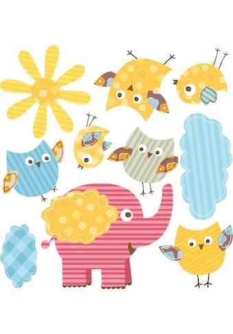 Wandtattoo »Lustige Tiere Set 03« kaufen