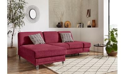 sit&more Ecksofa »Clio V«, wahlweise mit Bettfunktion oder Vorziehsitz und Bettkasten,... kaufen