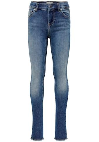 KIDS ONLY Skinny - fit - Jeans »KONBLUSH SKINNY RAW« kaufen