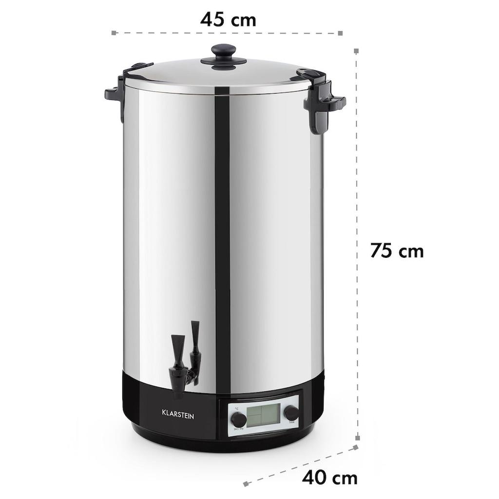 Klarstein Digital Einkochautomat Getränkespender »KonfiStar60«