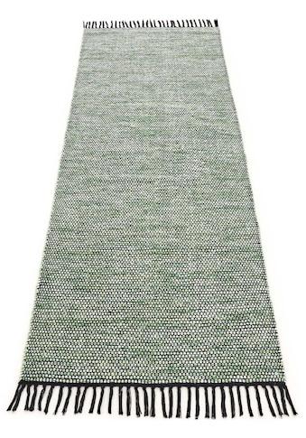 Läufer, »Kelim Nadi«, carpetfine, rechteckig, Höhe 5 mm, handgewebt kaufen