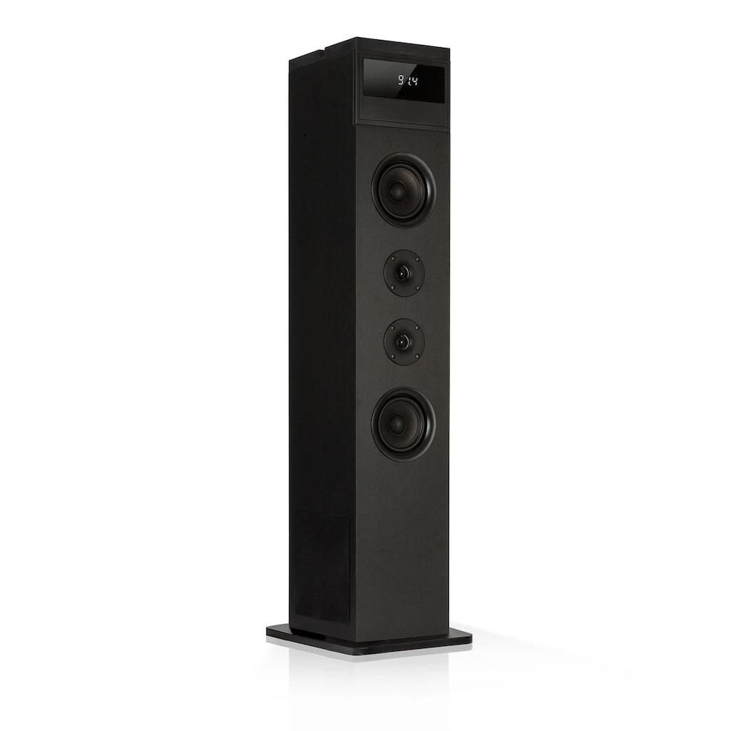 Auna Turmlautsprecher 120W max. Bluetooth UKW 2 in