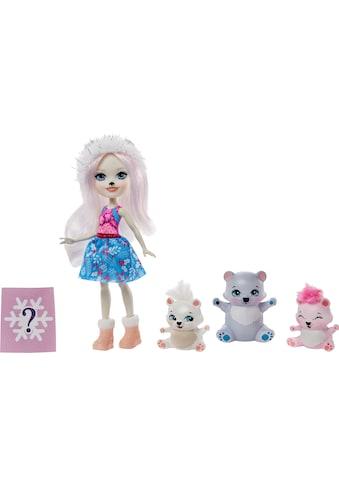 Enchantimals Anziehpuppe »Enchantimals Pristina Polar Bear, Glacier und Familie« kaufen