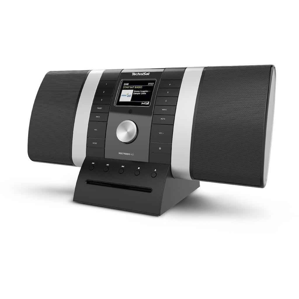 TechniSat DAB+/UKW/Internet-Stereoradio mit CD-Player, Musikstreaming