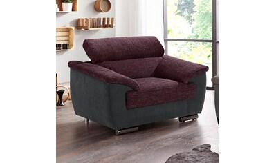 DOMO collection Sessel »Videl«, inklusive Rückenverstellung kaufen
