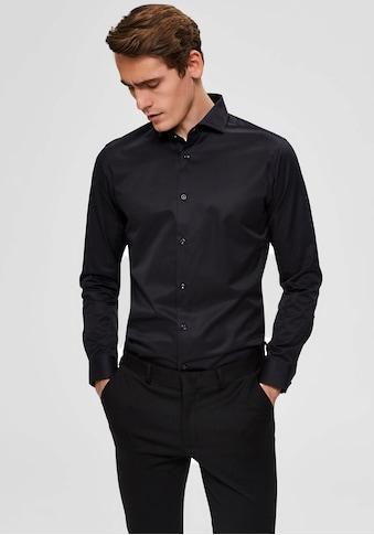 SELECTED HOMME Langarmhemd »SLIM SEL - PELLE SHIRT« kaufen