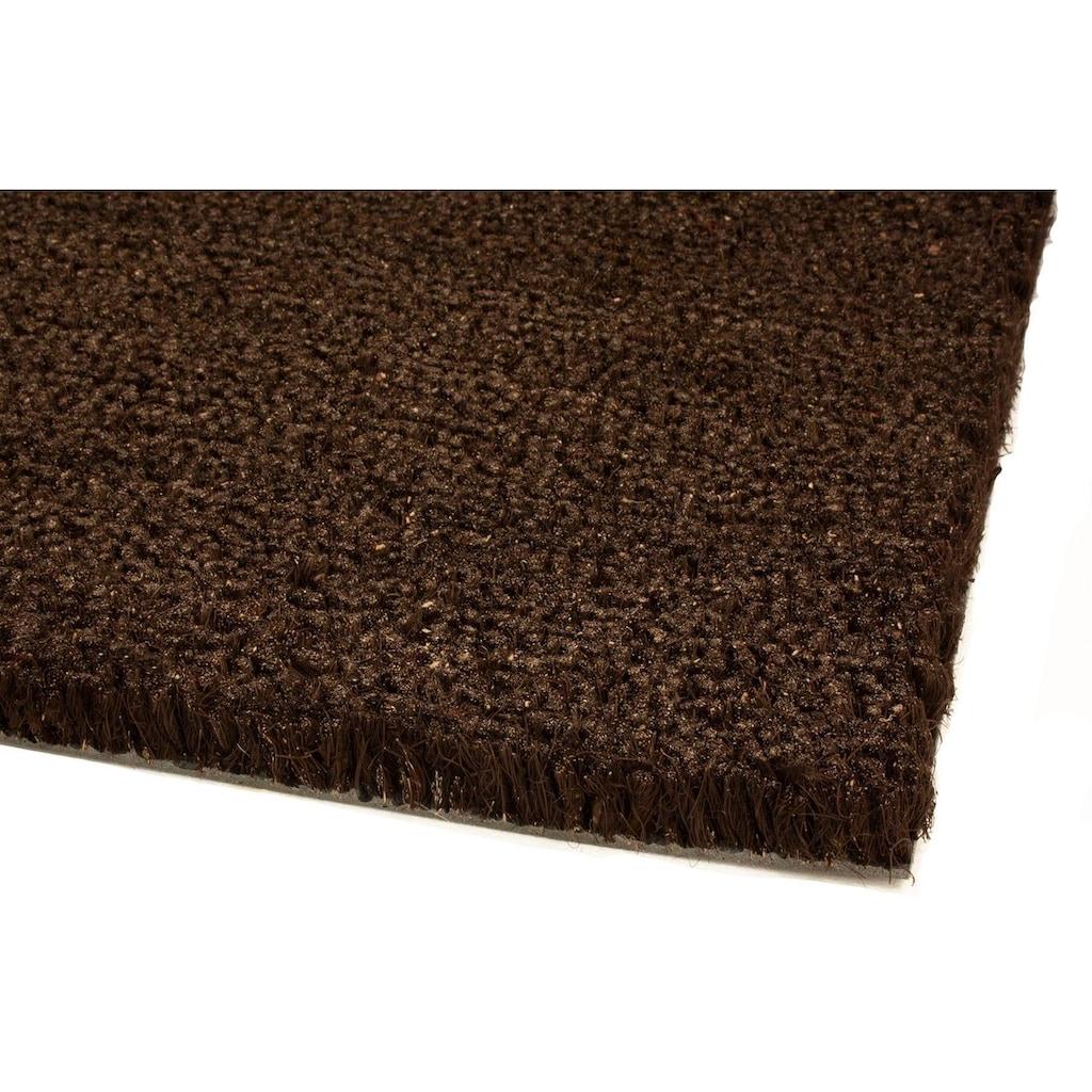 Primaflor-Ideen in Textil Fußmatte »KOKOS«, rechteckig, 17 mm Höhe, Schmutzfangmatte, Kokosmatte, In- und Outdoor geeignet