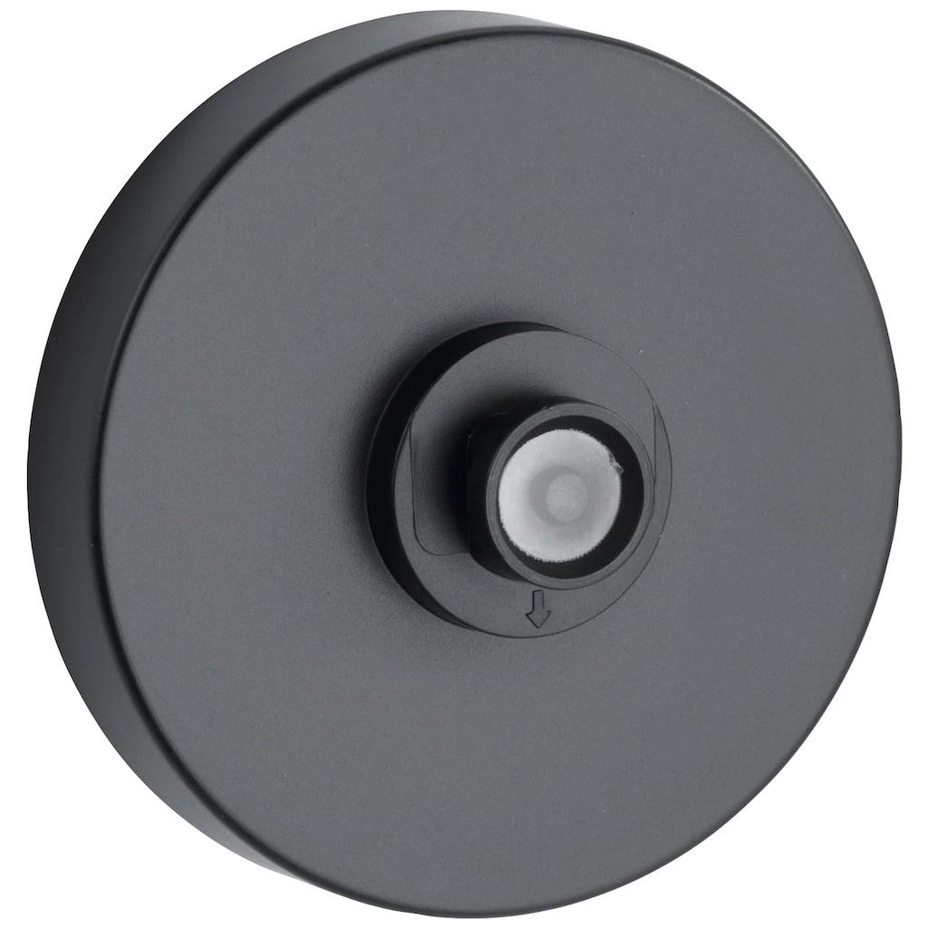 WENKO Eckregal »Vacuum-Loc® Classic Plus Black«, (1 St.), Befestigung ohne Bohren