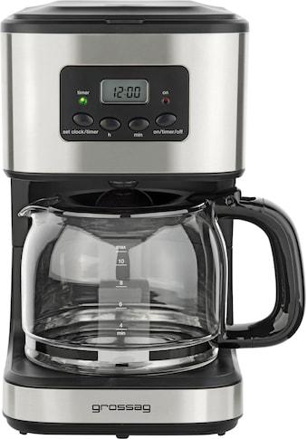 grossag Filterkaffeemaschine »KA 46 mit Timer«, Papierfilter, 1x4 kaufen