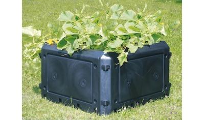 KHW Komposter »Aufbauset Bio Quick«, 230 Liter, BxTxH: 75x75x45 cm kaufen