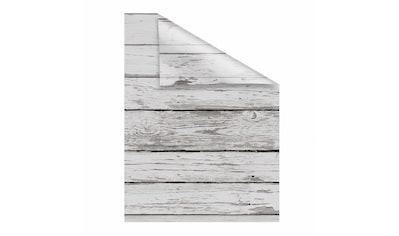 Fensterfolie, »Bretter - Vintage«, LICHTBLICK, blickdicht, strukturiert kaufen
