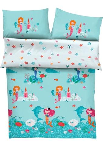 s.Oliver Junior Kinderbettwäsche »Meerjungfrau«, mit Meerjungfraumotiven kaufen