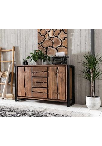 SIT Sideboard »Live Edge«, aus Akazienholz, mit markanten Baumkanten in der Front, in... kaufen