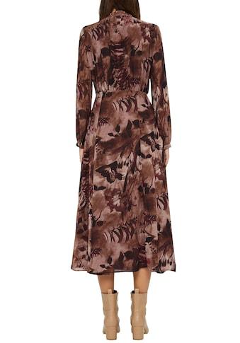 Esprit Collection Chiffonkleid, mit herbstlichem Print kaufen