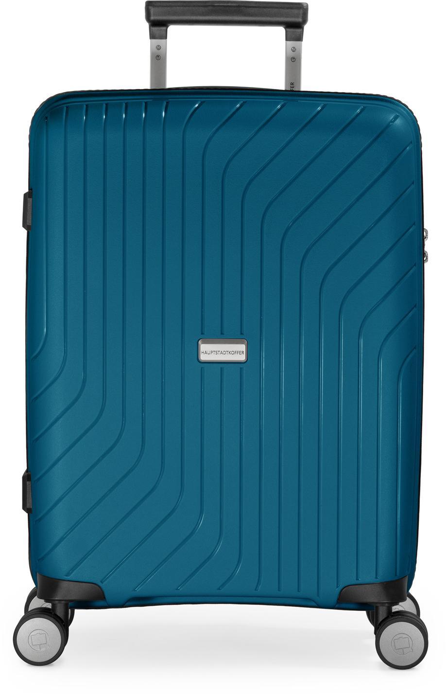 Hauptstadtkoffer Hartschalen-Trolley TXL, dunkelblau, 55 cm, 4 Rollen | Taschen > Koffer & Trolleys > Trolleys | Blau | hauptstadtkoffer