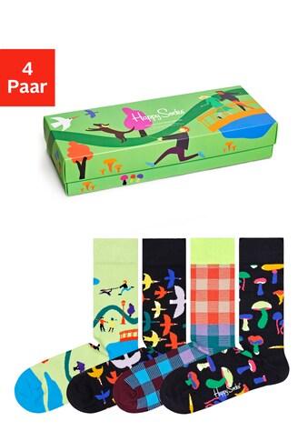 Happy Socks Socken »Into the Park«, (Packung, 4 Paar), in ansprechender Verpackung kaufen